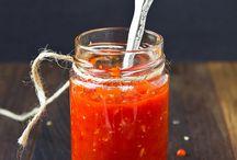 homeade garlic chille sauce