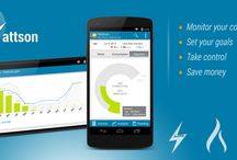 Wattson : Energy usage analyzer / Wattson is an Android app which will help you to monitor your energy usage. Set you targets, reduce your consumption, save money !
