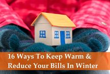 how to keep warm in the winter