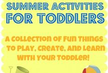 Toddler Activities  / by Ashley P