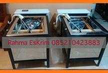 Mesin es krim stik  Rahma es krim 0852-1042-3883 / Menyediakan mesin eskrim Kapasitas 1.5PK /1.100 watt Media air garam
