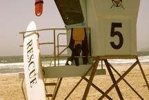 Beach lifeguard towers / by Terri Garcia