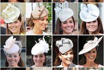 Royal hats / Royals, princess kate, millinery, duchess kate, queen, princess, classic, formal