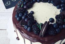 как украсить торты, выпечку