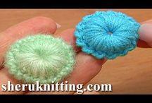 flores crochet videos