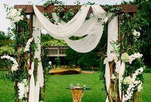 Wedding dec out door
