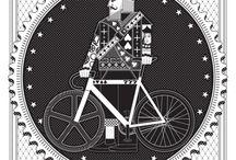自転車のグラフィック