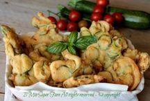 Frittelle Di Verdure Salate con pastella