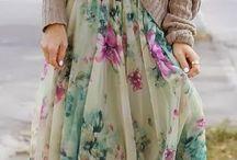 Inspiration for dressmaking