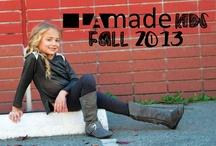 LAmade Kids Fall 2013 Lookbook / by LAmade