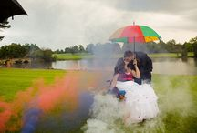 The Wedding of Natalie & Rick at Capesthorne Hall, Cheshire / A riot of colour at a the beautiful Civil Ceremony at  #Capesthornehall, Cheshire  Photos courtesy of http://www.adamrileyphotography.com http://www.fabuloustogether.co.uk/ #Fabuloustogether