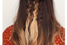 Coachella hairstyles / Los peinados más ad hoc para el festival más boho del año. Inspírate e imítalos en éste o cualquier otro festival