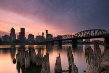 Portland, Oregon /  Views of the city / by Catherine Van Natta