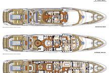 Yachts floorplans