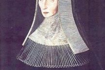 Lady Margaret Beaufort / A board dedicated to Lady Margaret Beaufort (1443-1509), Countess of Richmond and Derby, and mother of Henry VII.