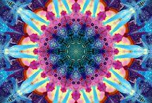 Fractal Mandala  / hypnosis, trance, mandala, color,