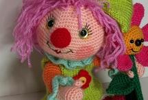 amigurumi clown