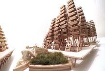 Hamish McAndrew - Architectural Models / Architectural Models by Hamish Angus McAndrew