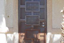Разработка двери