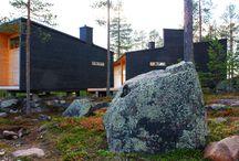 Sculptural houses