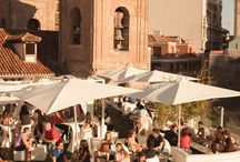 Madrid Rooftop Restaurants / Madrid Rooftop cafes, bars and restaurants / by Dreamstays Apartments