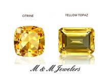 November Birthstone - Citrine & Yellow Topaz