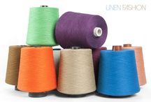 Linen yarns in many colours / A large collection of wet spun 100% linen yarns for weaving, knitting, crocheting and other artworks. Check out for linen yarns in a various colours and shades-everything from pastel and to bright colours for your handicraft. Single, twisted by 2 or 3 yarns.