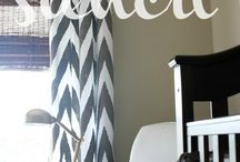 Home Projects: Paint Curtains