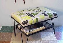 Midcentury stool modern