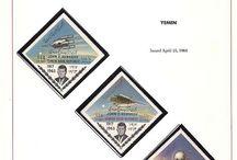 YEMEN Stamps JFK / John F. Kennedy stamps collection of Yemen.
