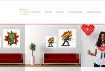 Our #shop, for your Aaart / Buy our products online. with Aaart e-commerce