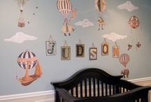 Hot air balloon nursery!