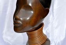 Art Deco Nubians and African styles figures, heads and busts manufactured by European factories / Art Deco Nubians and African styles figures, heads and busts manufactured by European factories . The African style through the eyes of the European Sculptor, Manufacturer, Artist or Potter