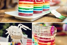 Party Theme -Rainbow  / by LaHoma Bradley Seymour