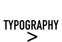 Typography / by James Christian