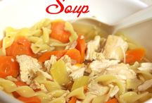 Soups, Soups and more Soups