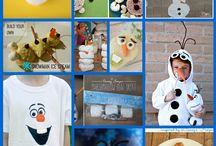 Birthday Party: Olaf Summer Birthday / Summer Olaf Birthday party / by Julia Quintero