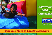 Day Camp / Day Camp is five days of high--energy, high--freedom, and high fun, all under the care of our legendary T Bar M coaches. Your kids' safety is their top priority, followed closely by their love and acceptance. These fun--loving, purposeful high school and collegiate kids are role models for a lot more than sport fundamentals. Book now for a summer your grade--schooler will never forget.  Finished K-4th Grade (Session 2, 6 and 10 open to 5th)