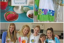 cookie/cupcake party / by Melissa Mulford
