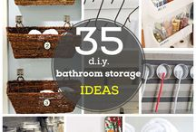 Bathroom ideas / by Emma Kerr