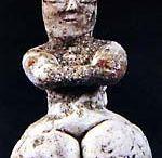 Prehistoric Mother goddess figurine
