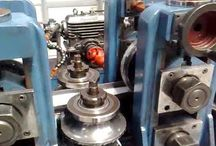 A Complete Tube Mill with Cold Saw Manufacture by Nirmal Overseas Limited