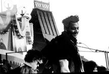 Hollywood Vampires ät Gröna Lund / Vampyyrejä: Johnny Depp, Alice Cooper, Joe Perry, Robert DeLeo at Stockholm, amusement park 30.05.2016 Stockholm Syndrome