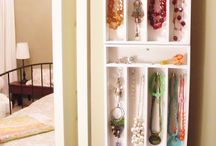 Jewelry Display / Storage Ideas / by Jaime Reynolds