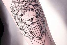 Løve tattoo