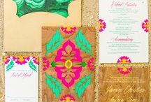 Mimosa - Neon and Bright Weddings / Super bright, neon and eye popping colour ways for wedding styling.
