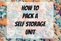 Pack Your Storage Unit / Best tips and advice to keep your storage unit organized and functional   #CannonSelfStorage #StorageUnits #SelfStorage