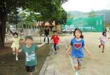 교육현장 / 어린이들의 밝은 모습