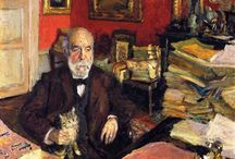 Edward Vuillard - Pierre Bonnard / Paintings of two Great Artists.