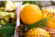Christmas decor crafts food